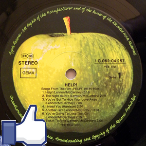 "Neue Facebook-Gruppe ""Beatles & Vinyl"""