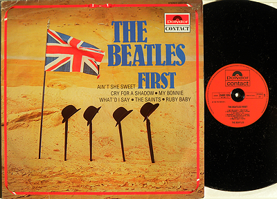 Beatles First - Seltene Pressung auf Polydor Contact