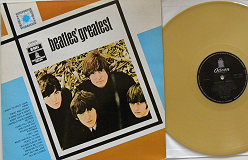 Beatles - Greatest (Goldene Pressung)
